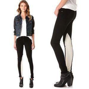 EUC Rag & Bone Jodhpur Black & White Jeans
